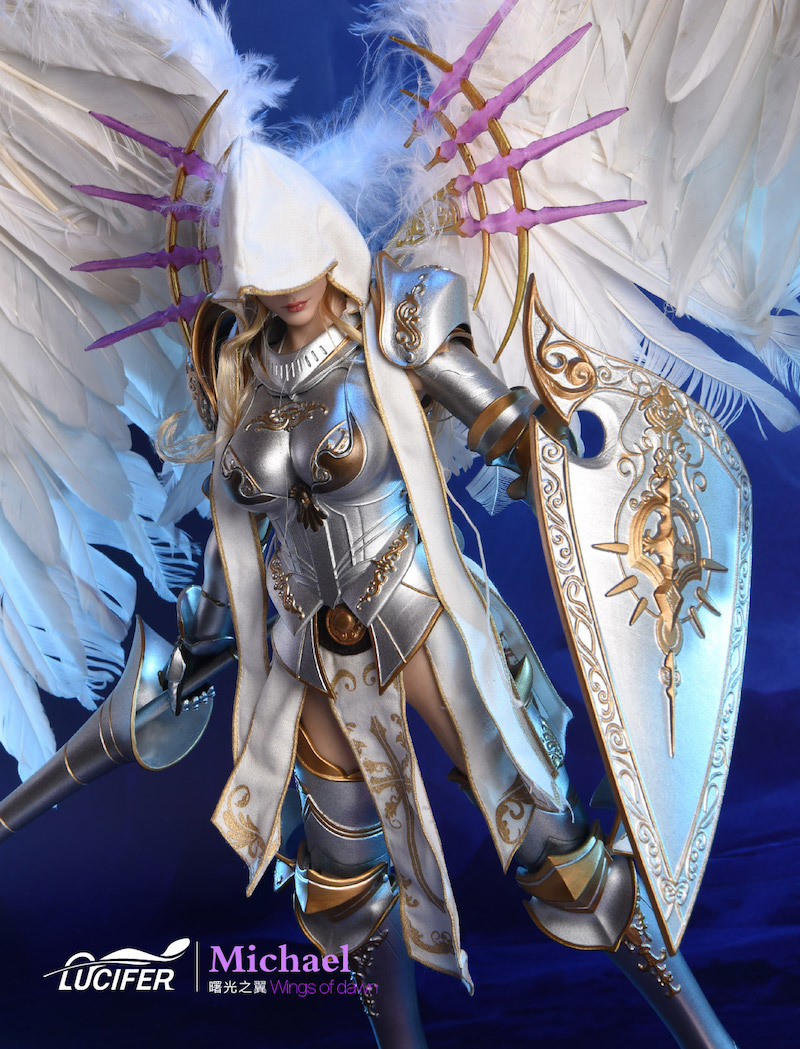 NEW PRODUCT: Lucifer Wings of Dawn Swordsman Version [LXF-1703S] & Big Angels Version [LXF-1703B] 1:6 Figure 945