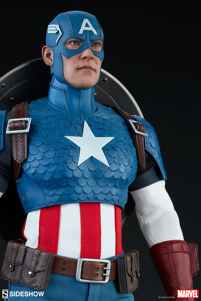 captainamerica - NEW PRODUCT: SIDESHOW COLLECTIBLES: CAPTAIN AMERICA 1/6 SCALE FIGURE 961