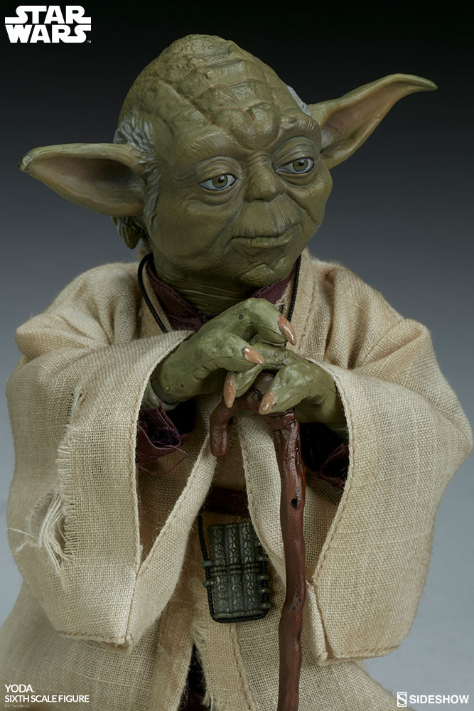 esb - NEW PRODUCT: SIDESHOW COLLECTIBLES: THE EMPIRE STRIKES BACK YODA 1/6 SCALE FIGURE 982