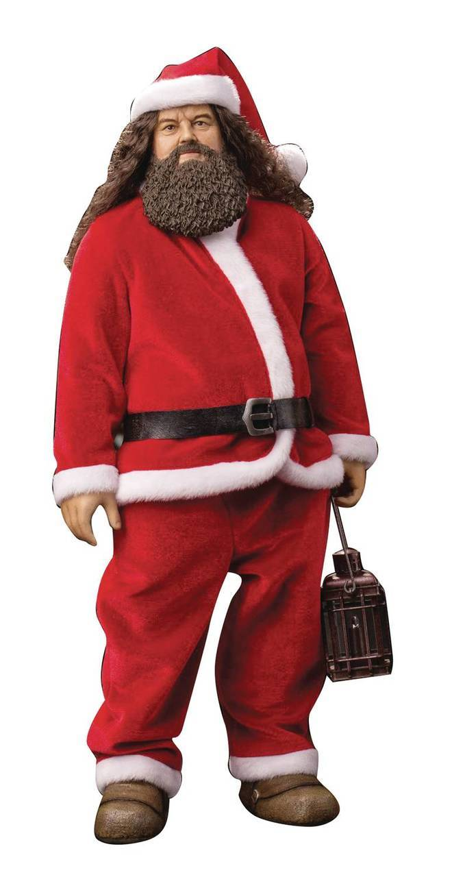 Dog - NEW PRODUCT: Star Ace: Harry Potter and the Sorcerer's Stone Rubeus Hagrid (Santa) 1/6 Scale Figure Stl10010