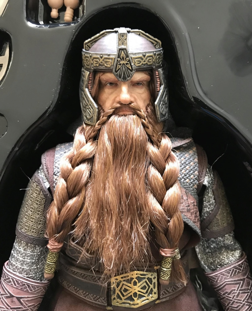 NEW PRODUCT: Asmus Toys The Lord of the Rings Series: Gimli (LOTR018) Timeme11
