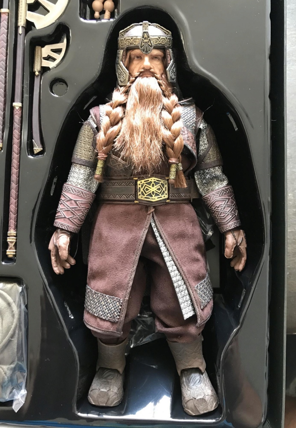 NEW PRODUCT: Asmus Toys The Lord of the Rings Series: Gimli (LOTR018) Timeme12