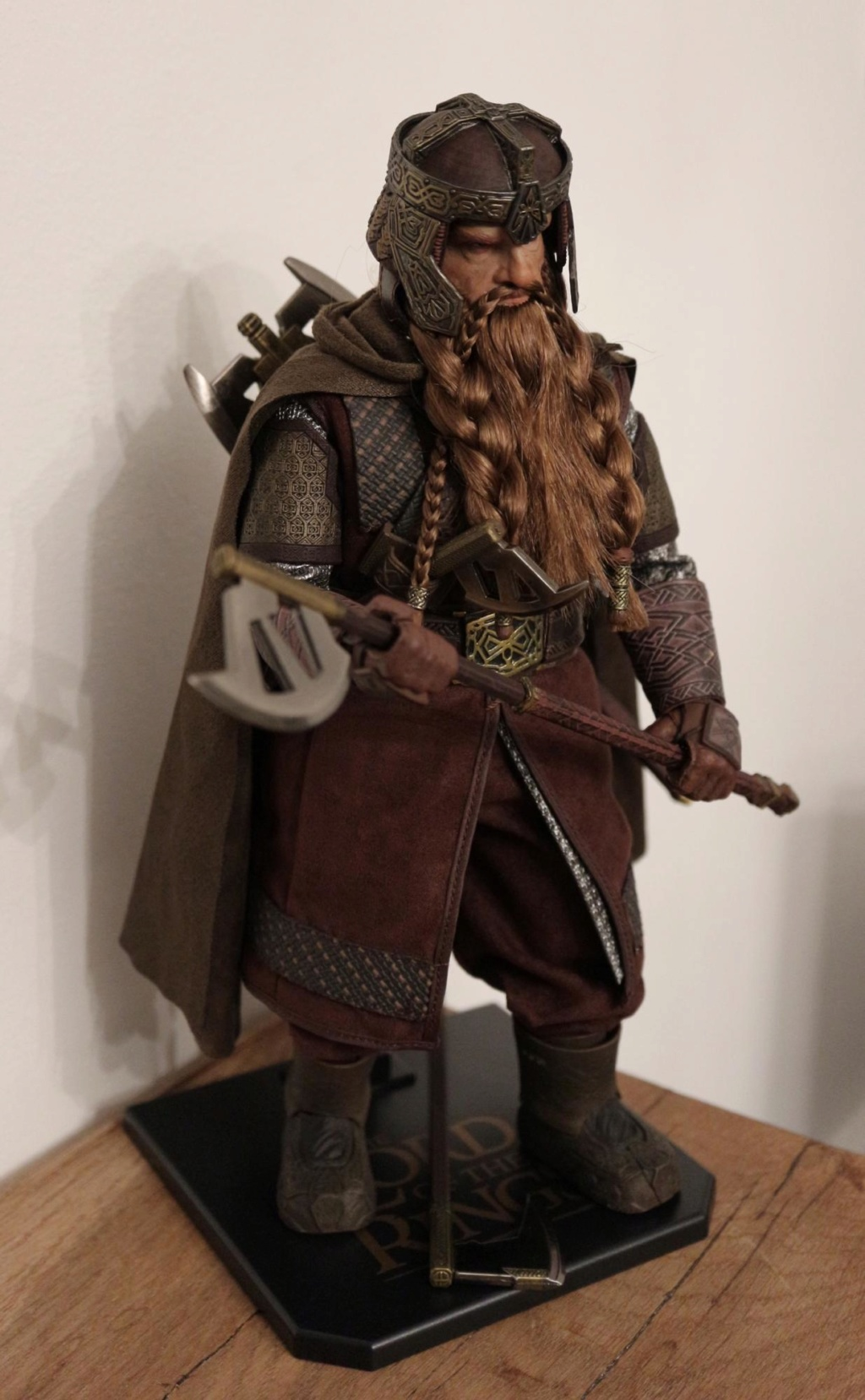 NEW PRODUCT: Asmus Toys The Lord of the Rings Series: Gimli (LOTR018) Timeme13