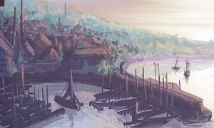 Vieux Port de Cayagane