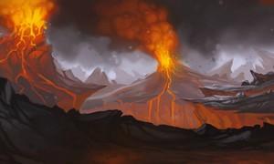 Sentiers sulfureux du Limar