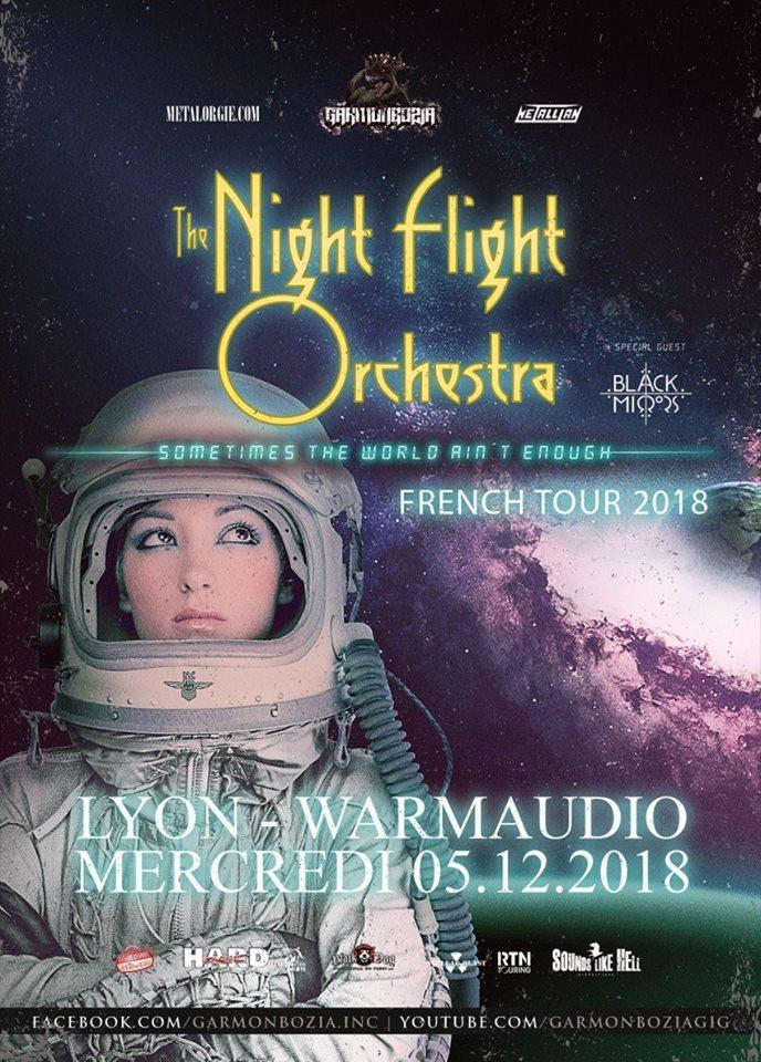 The Night Flight Orchestra, Black Mirrors // Lyon 30515913