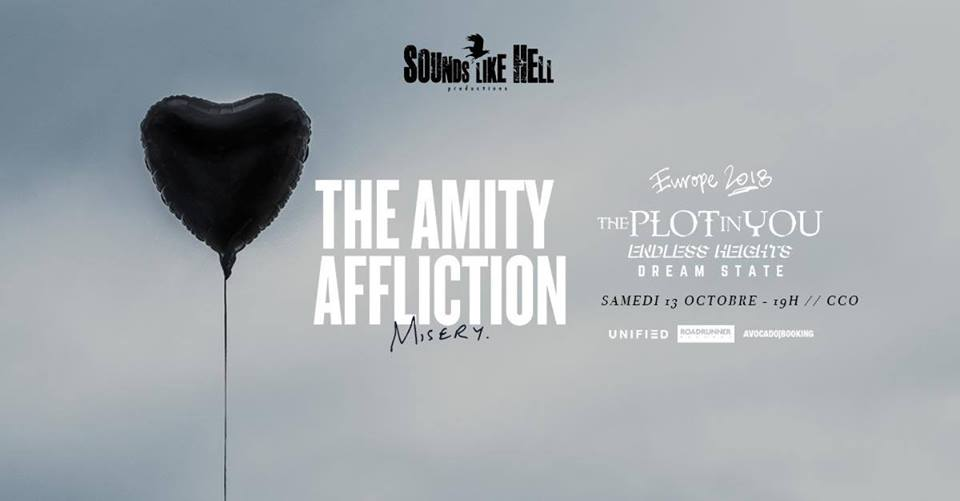 The Amity Affliction, The Plot In You + guests à Lyon (CCO) 36666611