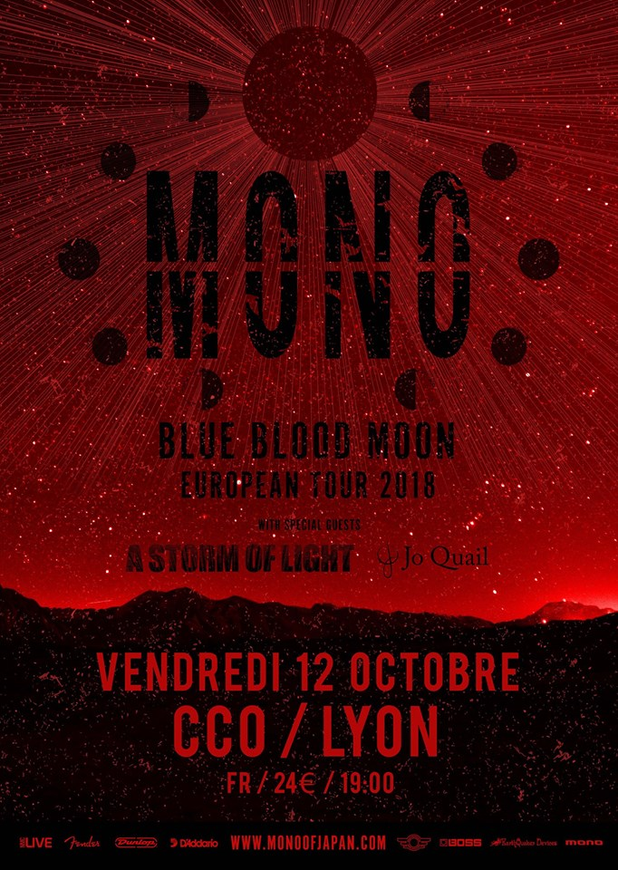 Mono, A Storm of Light et Jo Quail à Lyon (Hard Rock Café) 37794211
