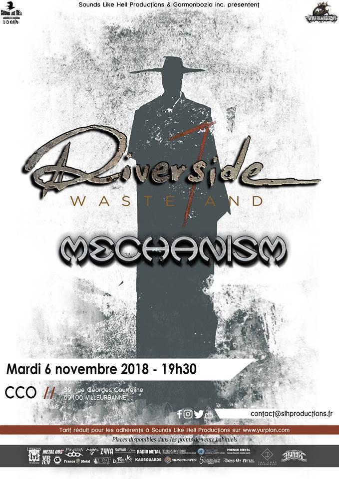 Riverside + Mechanism au CCO (Lyon) 43543611