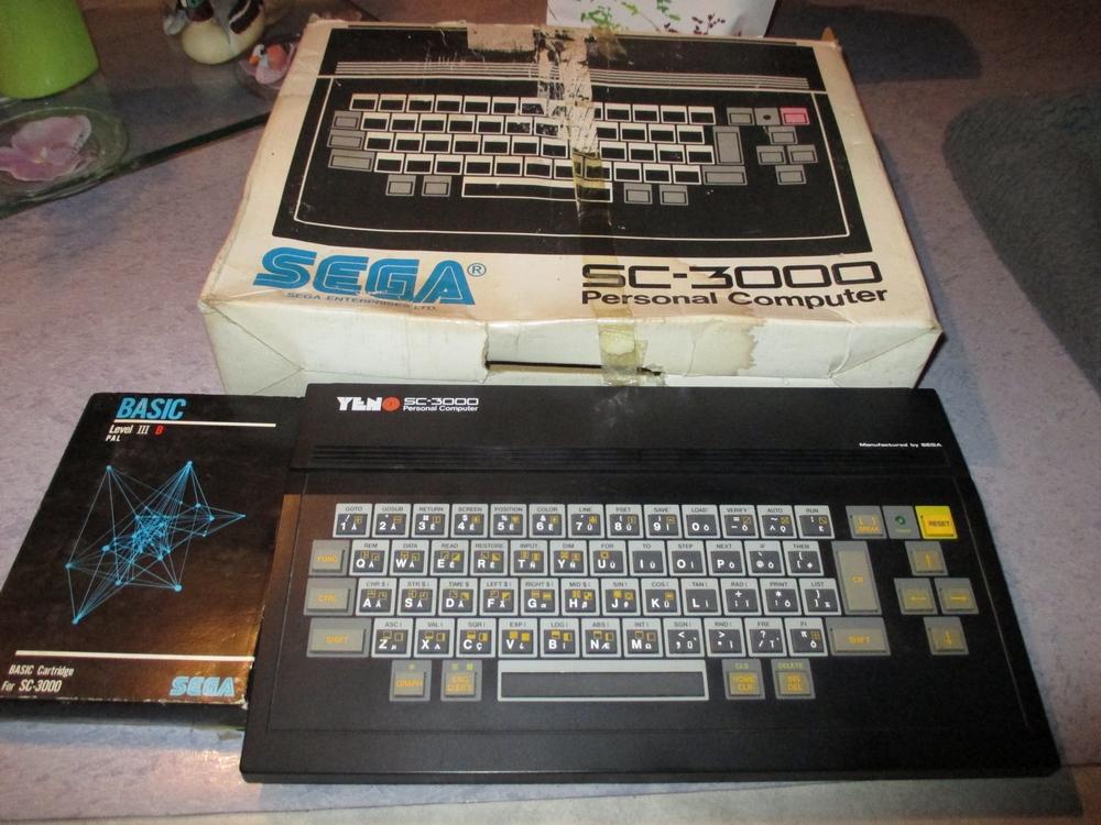 [EST] Micro SEGA YENO SC3000, en boite + 10 jeux cartouches + Basic Img_1729