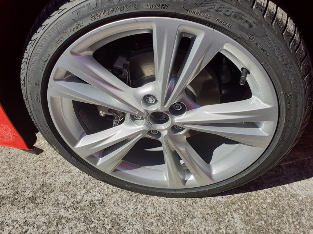 Hacer rueda de repuesto opel astra k gsi line  20180612