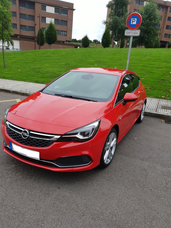 Opel Astra Gsil line 1.4  150 cv Rojo rubi 20180710