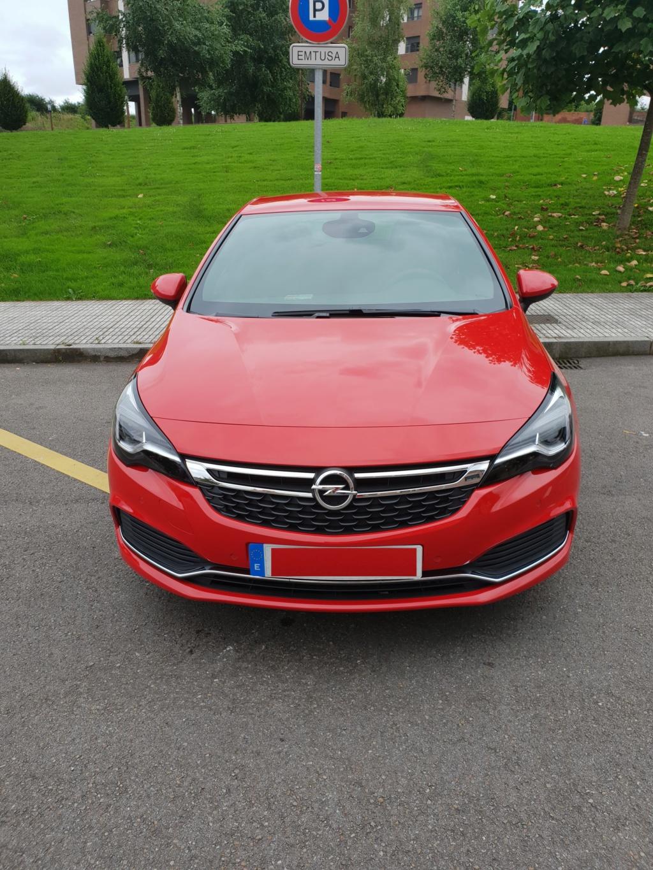 Opel Astra Gsil line 1.4  150 cv Rojo rubi 20180711