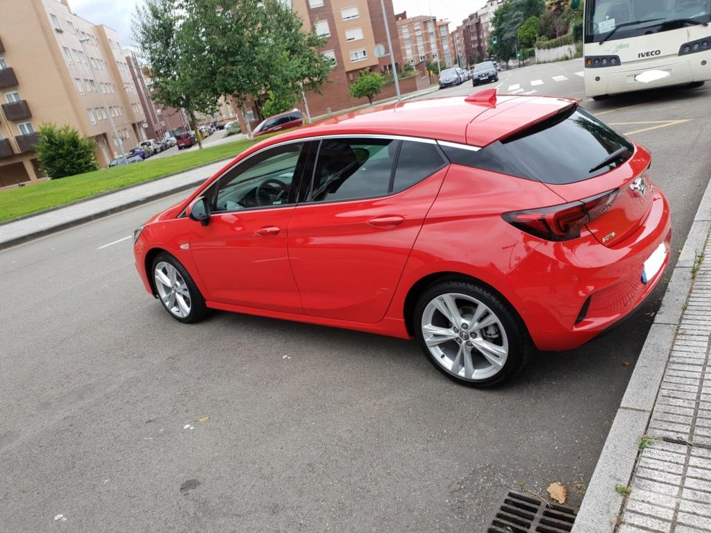Opel Astra Gsil line 1.4  150 cv Rojo rubi 20180712