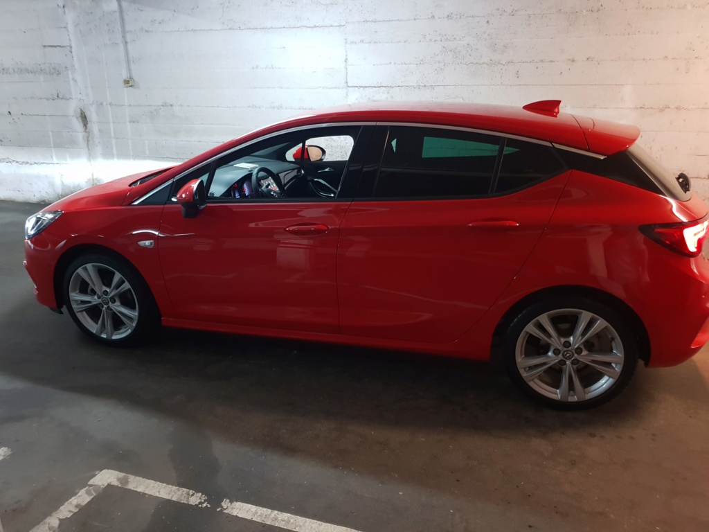 Opel Astra Gsil line 1.4  150 cv Rojo rubi 20180713