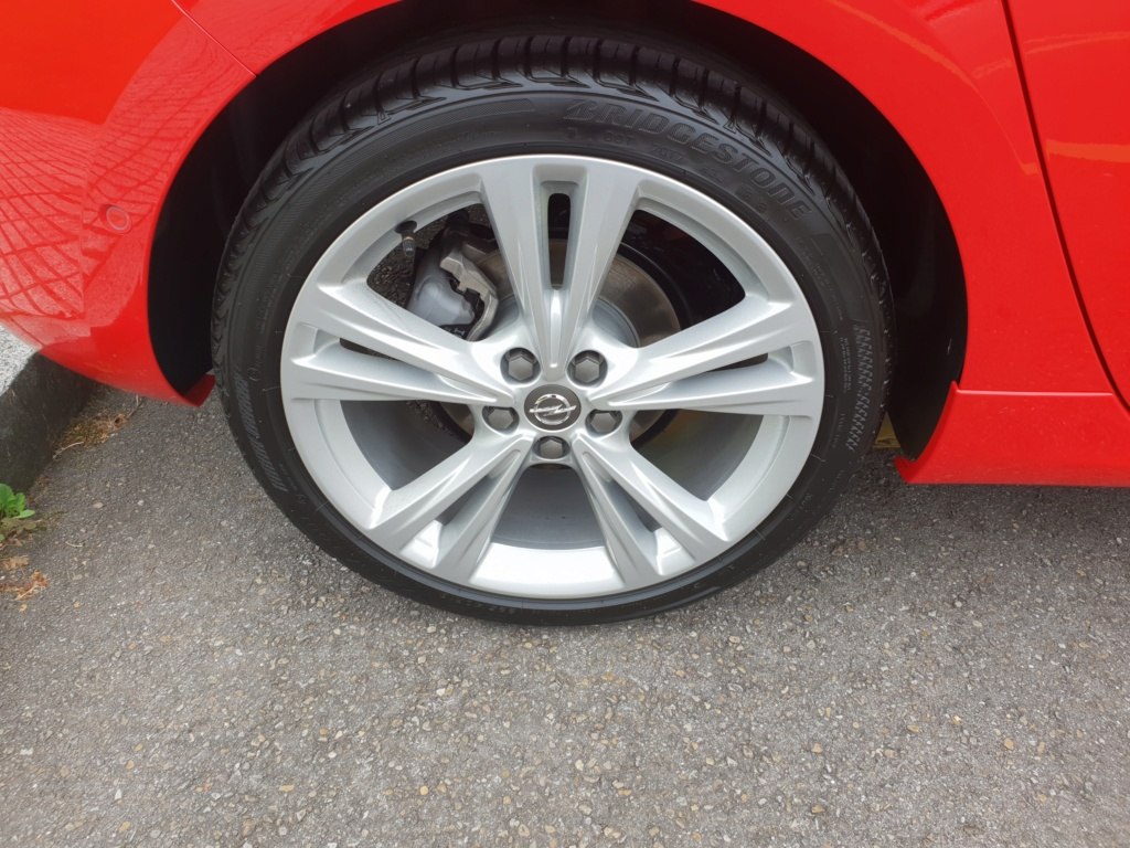 Opel Astra Gsil line 1.4  150 cv Rojo rubi 20180714