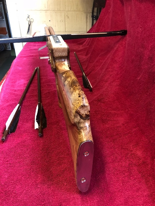 Finished Crossbow - Thanks to all - here some pic and if anyone wants info let me know happy to help . Img_0412