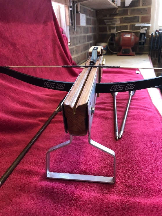Finished Crossbow - Thanks to all - here some pic and if anyone wants info let me know happy to help . Img_0413