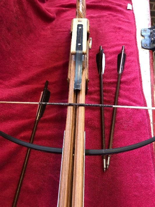 Finished Crossbow - Thanks to all - here some pic and if anyone wants info let me know happy to help . Img_0414