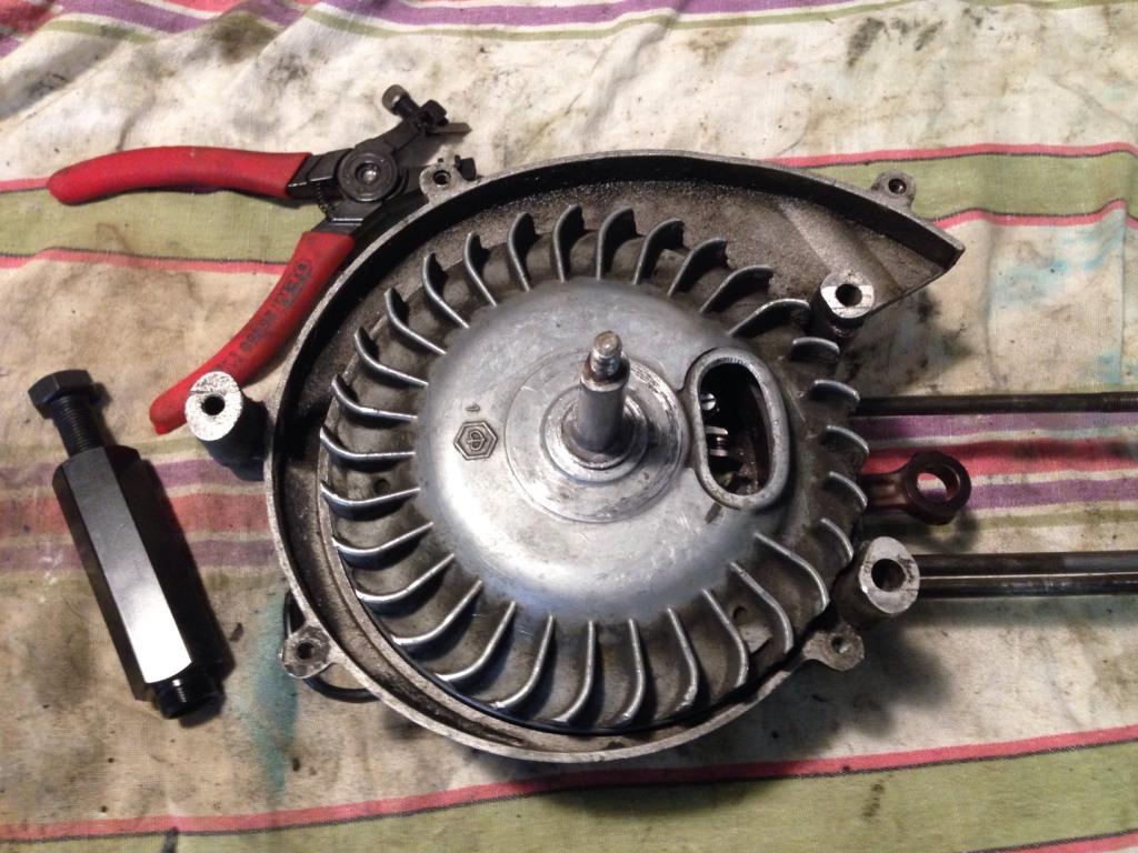 Retirer le volant magnétique Vm110