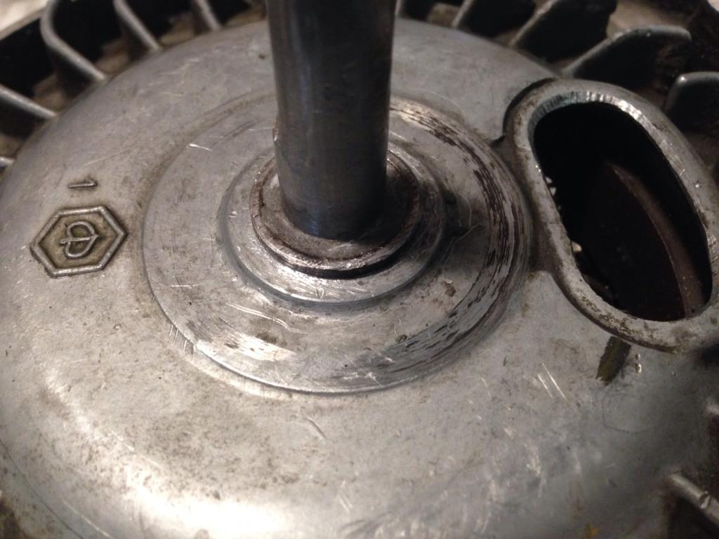 Retirer le volant magnétique Vm210
