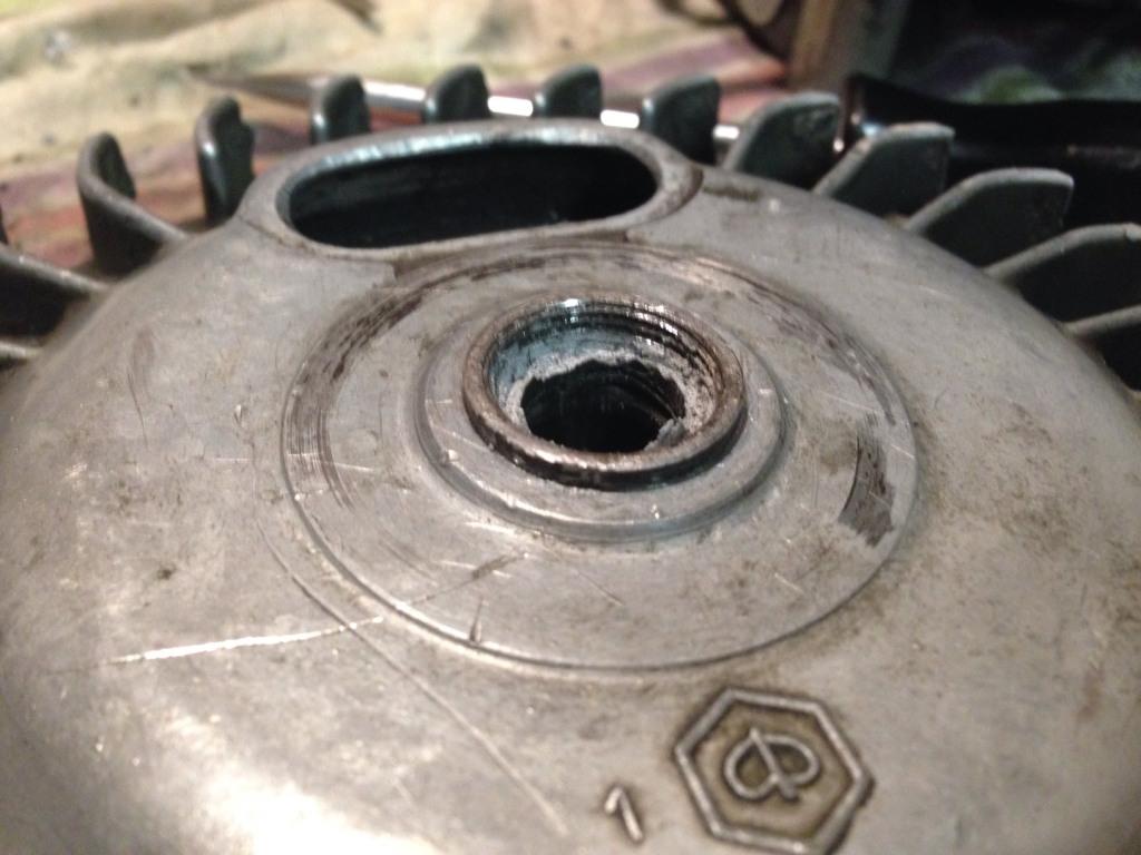 Retirer le volant magnétique Vm410