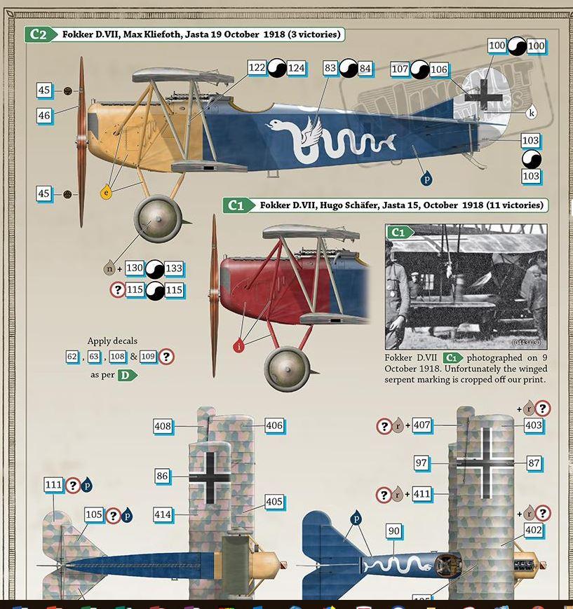Fokker D. VII - Wingnut 1/32 [TERMINE] 0210