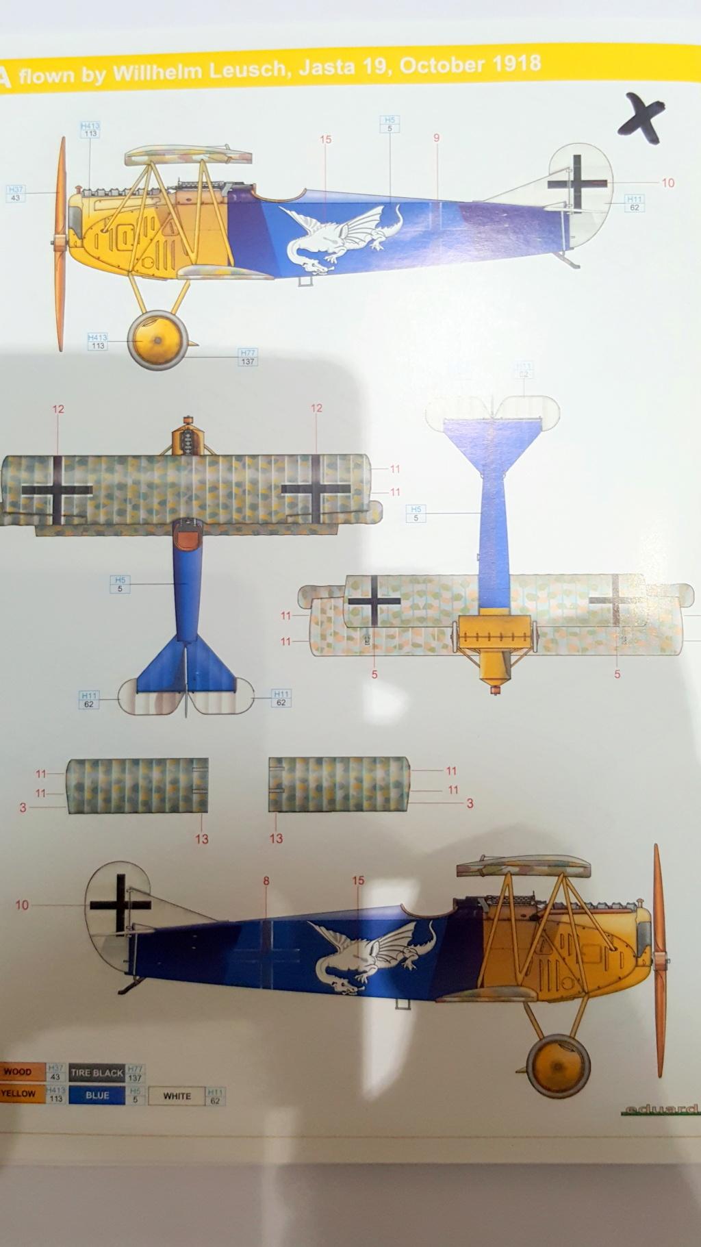 Fokker D. VII OAW - Eduard 1/48 (montage terminé) 20180110