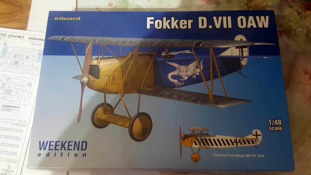 Fokker D. VII - Wingnut 1/32 [TERMINE] 20180916