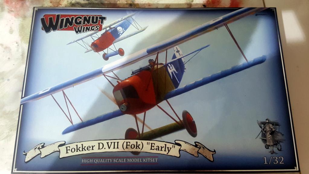 Fokker D. VII - Wingnut 1/32 [TERMINE] 20180918
