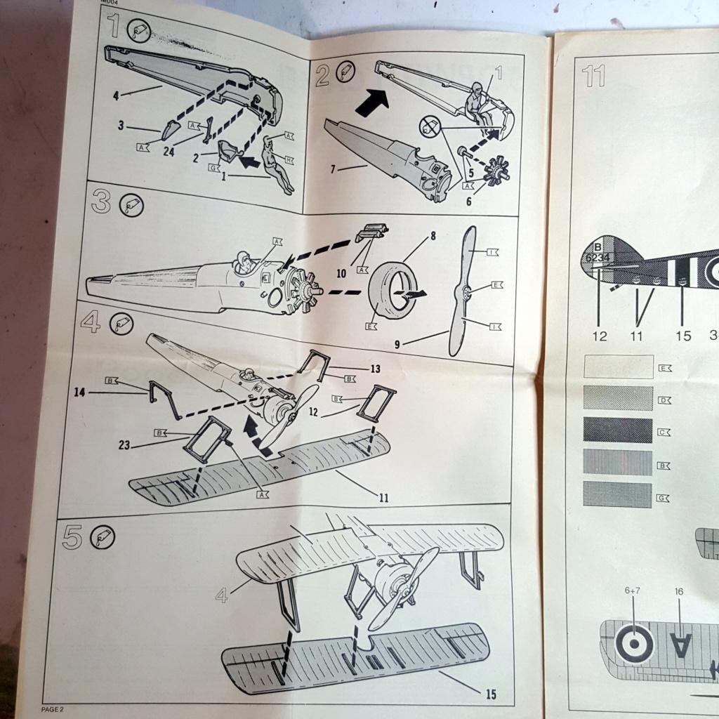 Sopwith Camel - Remise à niveau kit Aurora/Monogram (1975) - 1/48 20181239