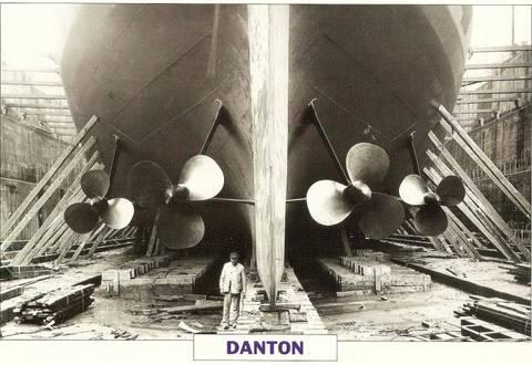 """Cuirassé """"Danton (1906) Hobby Boss 1/350 erik91410 - Page 3 Danton30"""