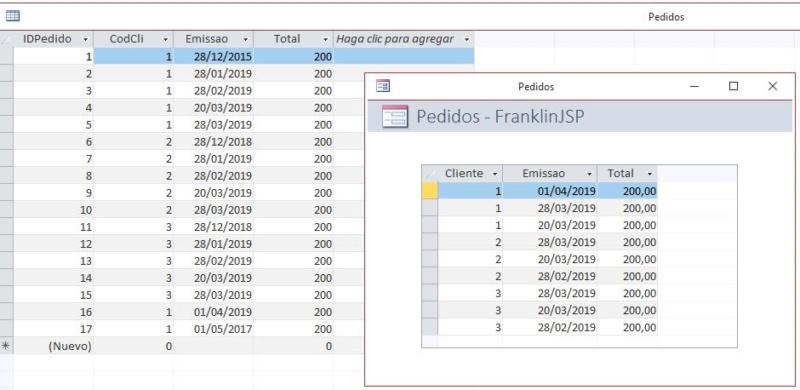Agregar numero de registros de uma tabela Captur27