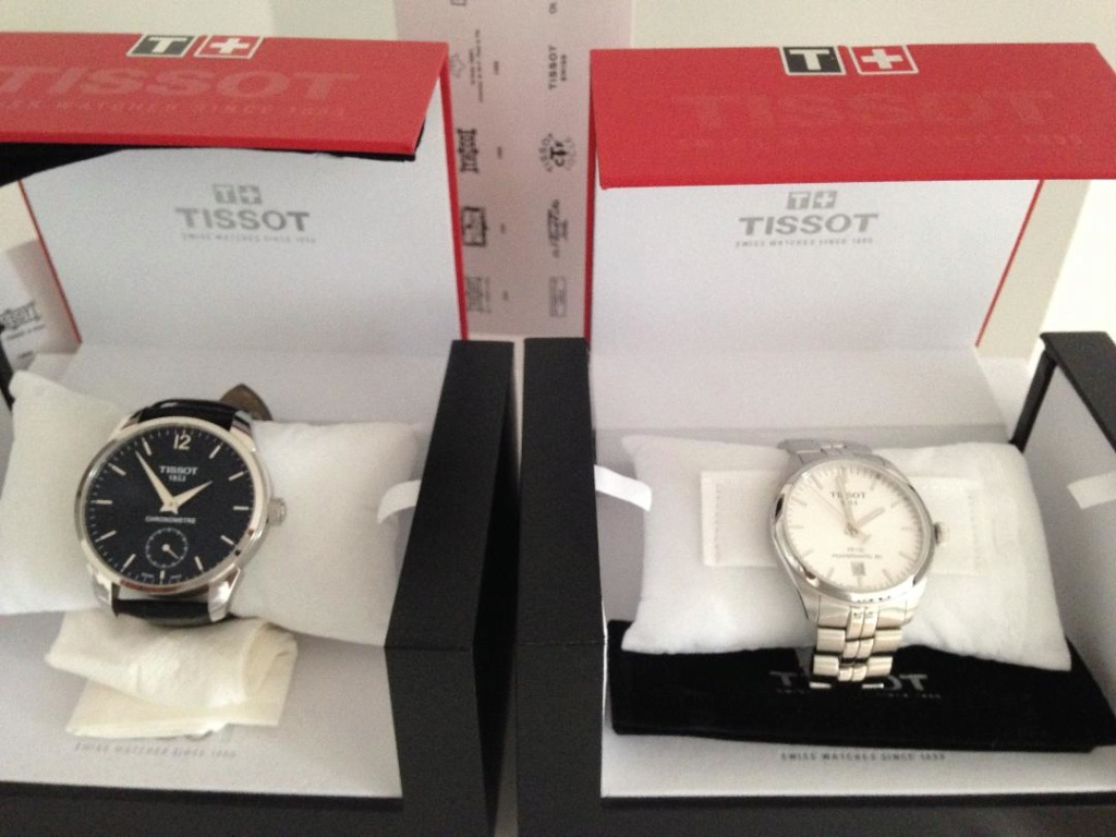 lots de 2 montre tissot  Lot_ti10