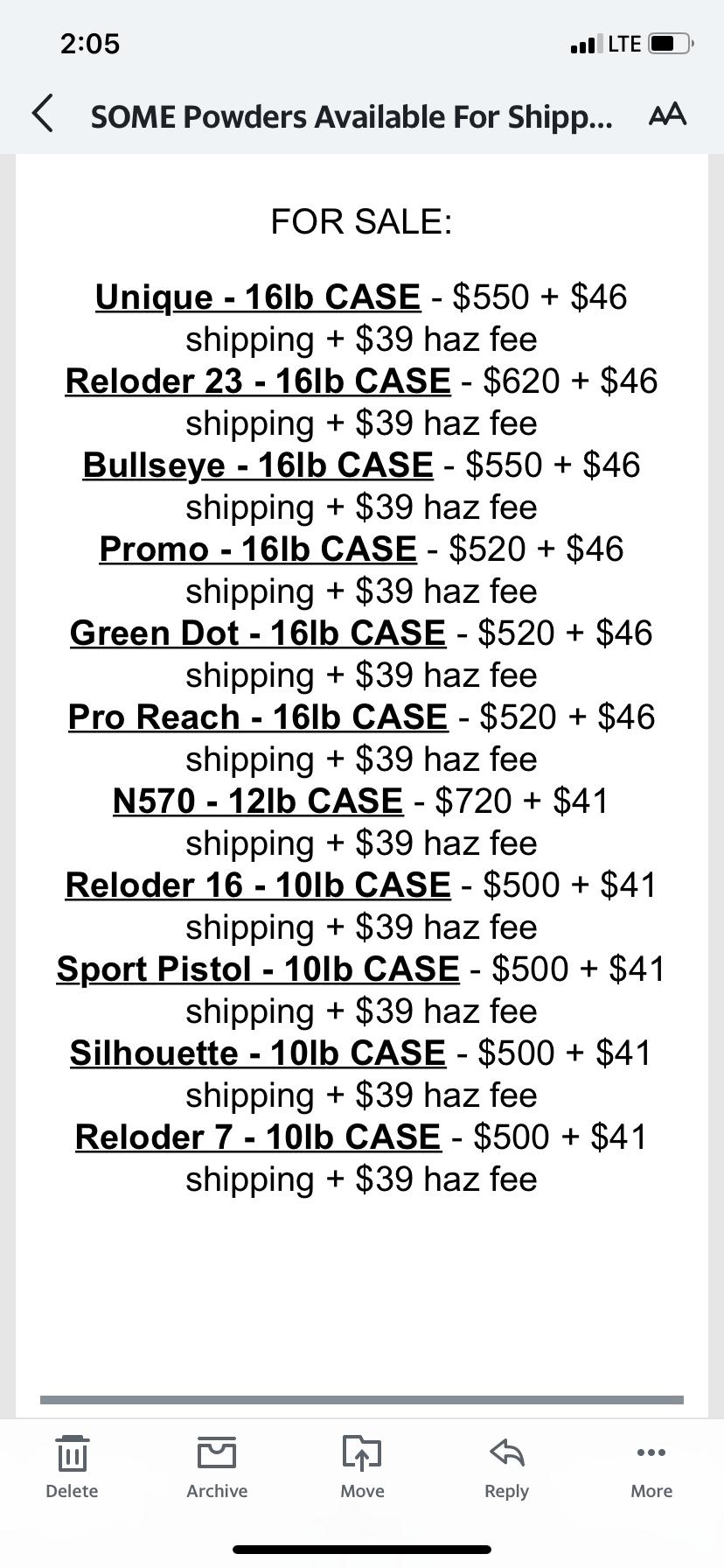 Bullseye powder available at Bruno shooters supply 37652510