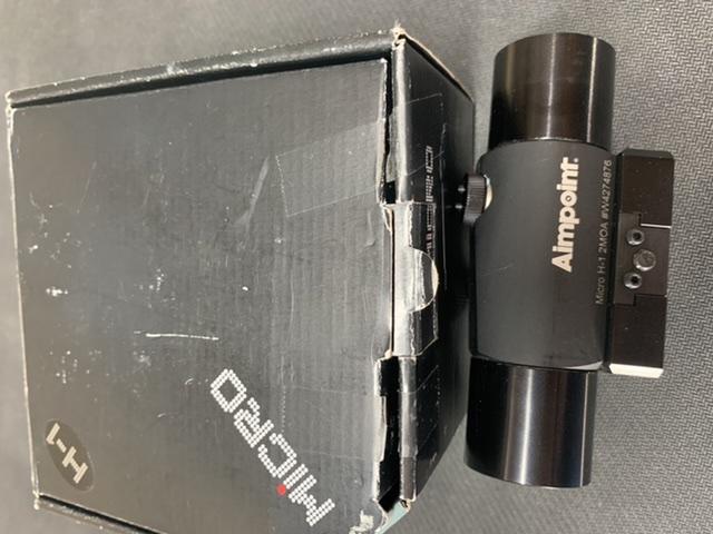 Sold Aimpoint Micro H1 50719e10