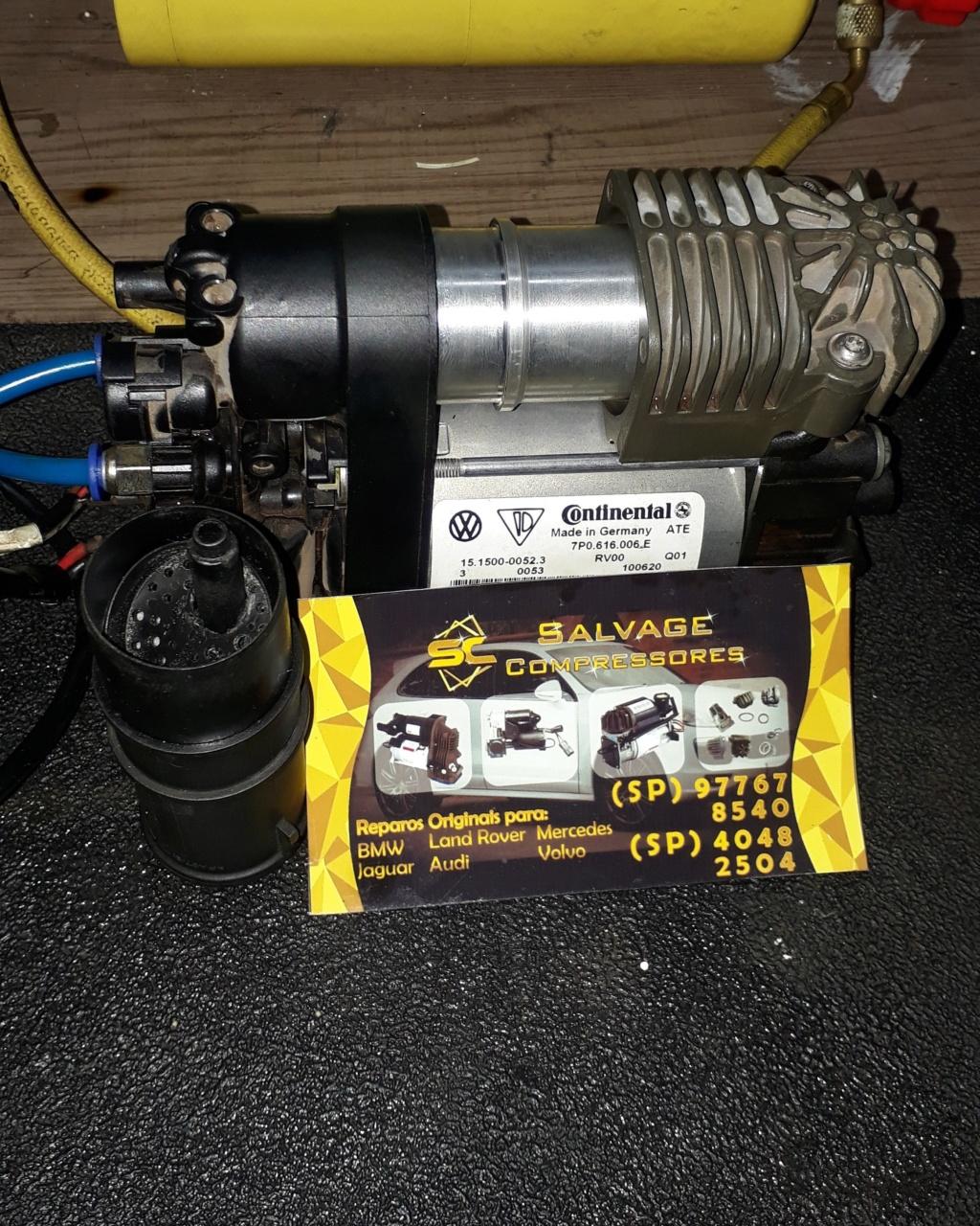 SALVAGE Compressores e bolsas do sistema airmatic remanufaturadas com padrão original Compre10