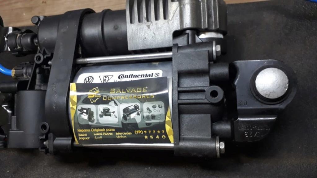 SALVAGE Compressores e bolsas do sistema airmatic remanufaturadas com padrão original Porsch10