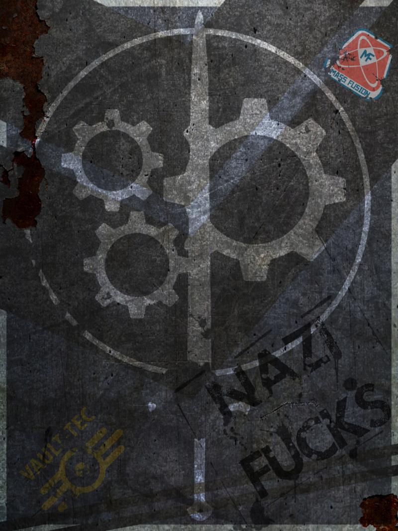 Brotherhood of Steel Poster  Brothe10