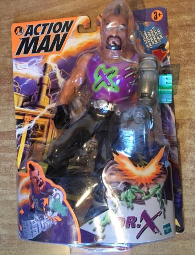 Hasbro Action Man Personaggio Dr. X Action10