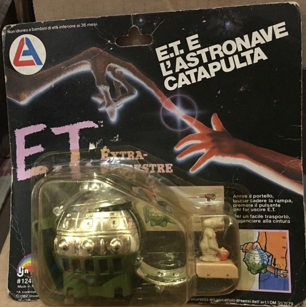 E.T. L'extraterrestre e L'astronave Catapulta Cata10