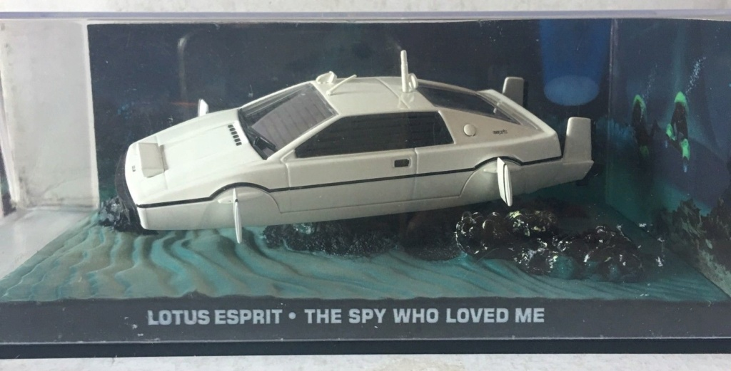"007 Lotus Esprit "" THE SPY WHO LOVED ME"" Esp11"