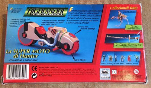GiG Higlander L'utimo eroe immortate Moto Hig210