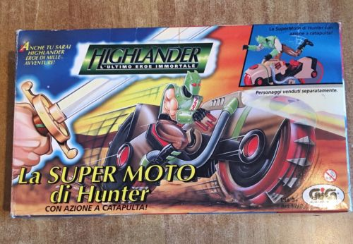 GiG Higlander L'utimo eroe immortate Moto High10