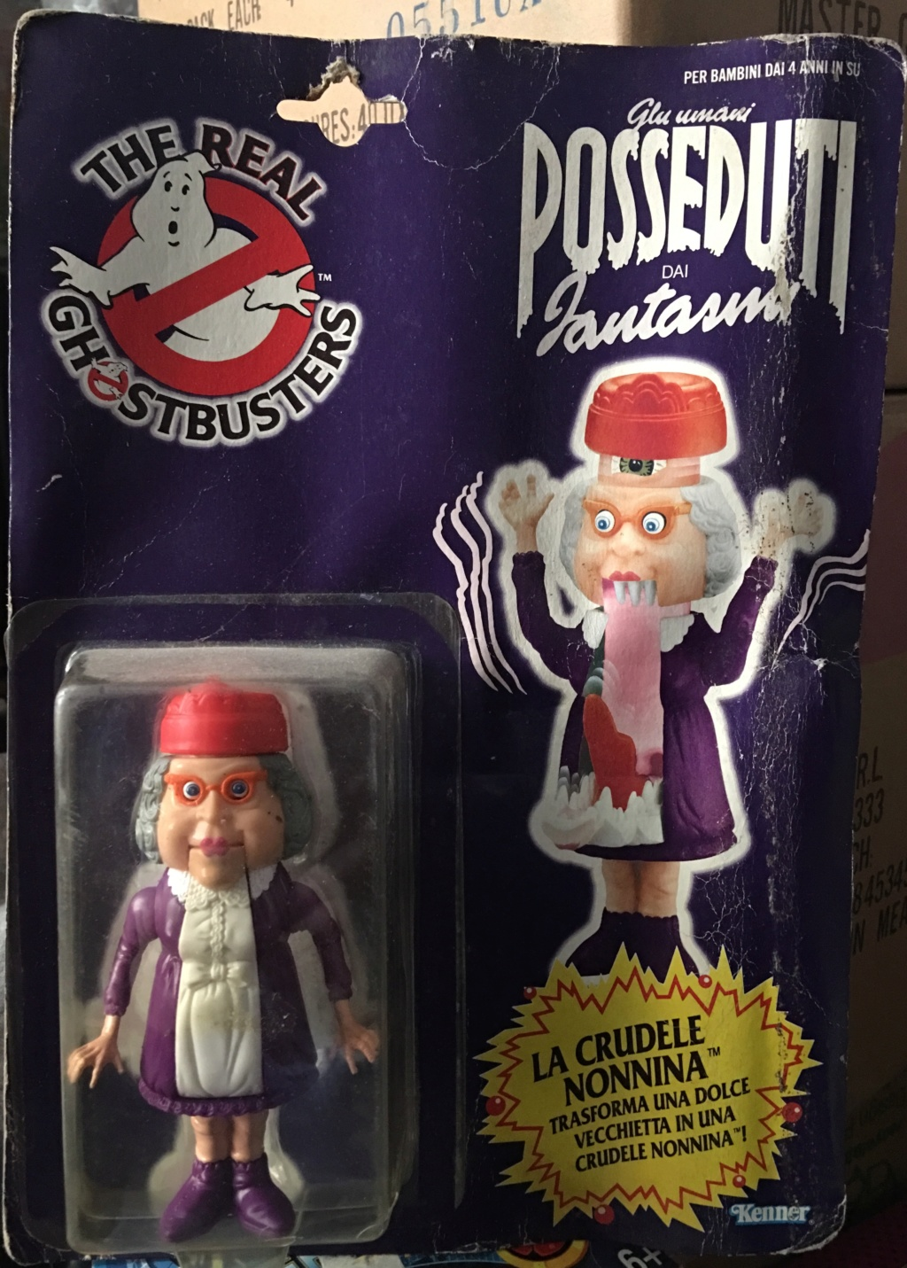 """The Real Ghostbuster Kenner """" La crudele nonnina"""" Img_3920"""