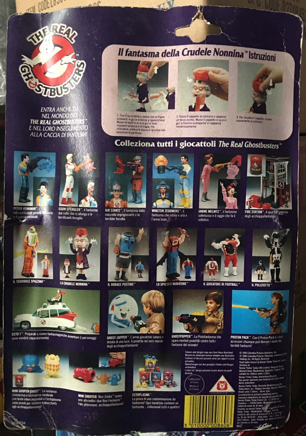 """The Real Ghostbuster Kenner """" La crudele nonnina"""" Img_3921"""