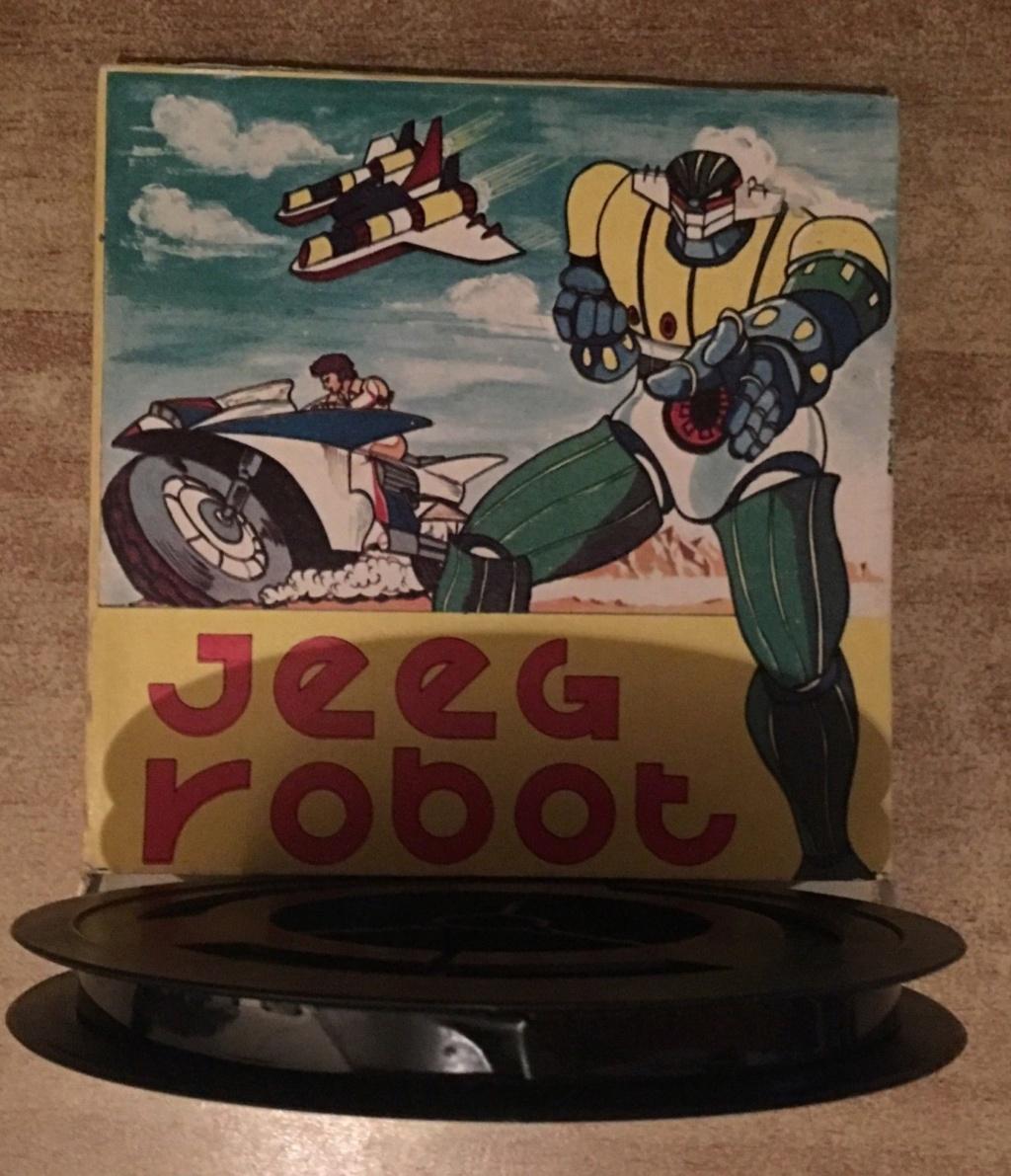 Jeeg Robot Pellicola Super 8 Je10