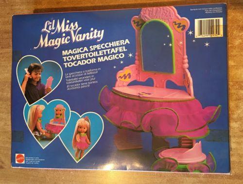 Mattel Miss Magic Vanity Specchiera e accessori Miss10