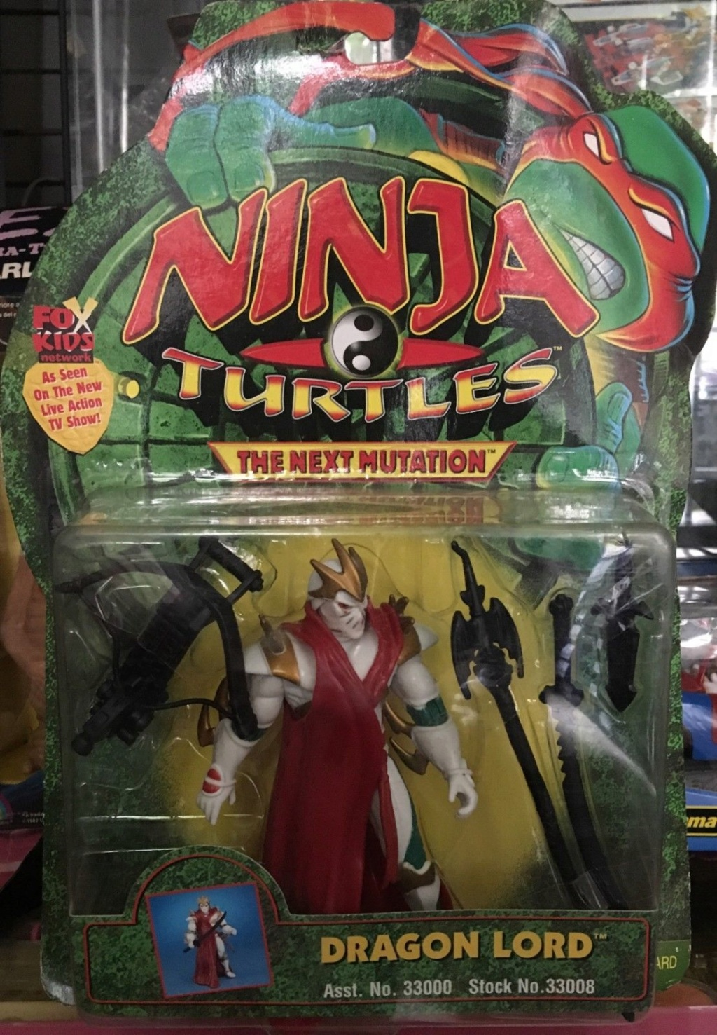 Ninja Turtles THE-NEXT-MUTAT DRAGON LORD Ninja10