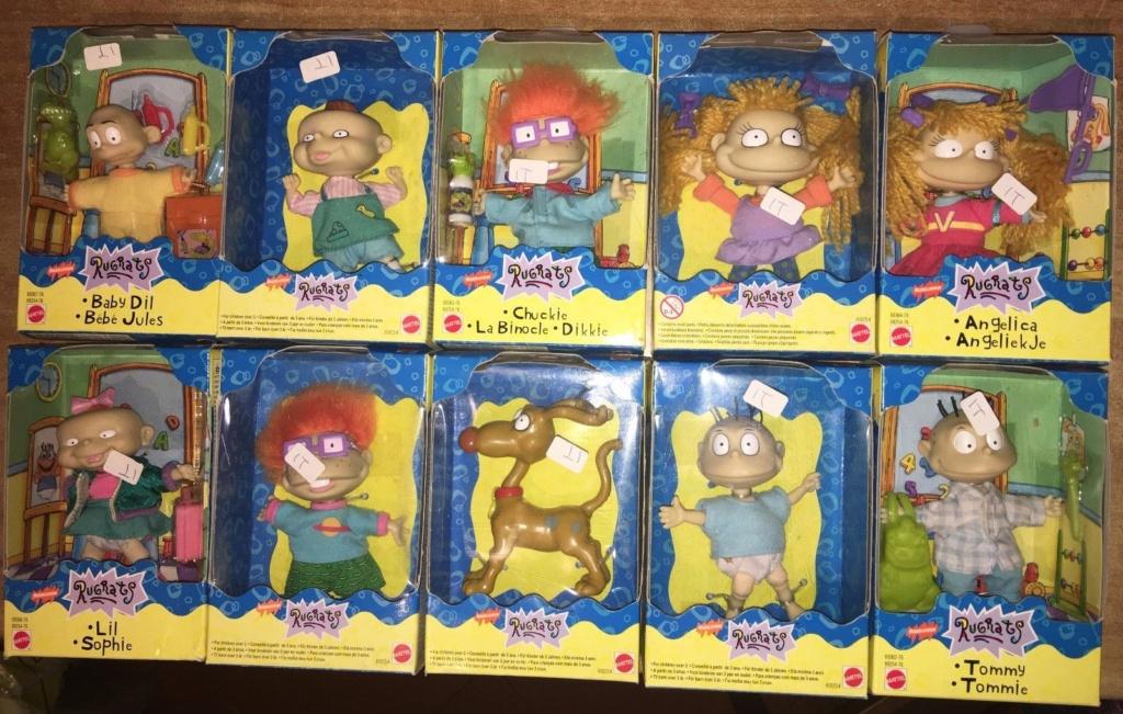 Mattel Rugrats Lotto 10 personaggi Rugr10